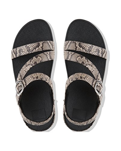 The natural Punta Abierta Snake 585 Marrón Fitflop Skinny Para Sandalias Mujer Ii Con RqnSSadZw