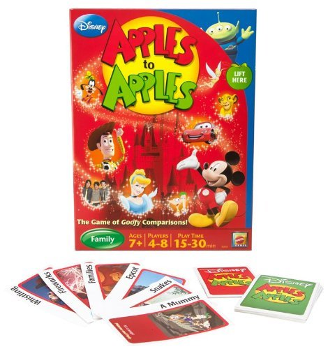 Disney Apples To Apples - The Game Of Goofy Comparisons