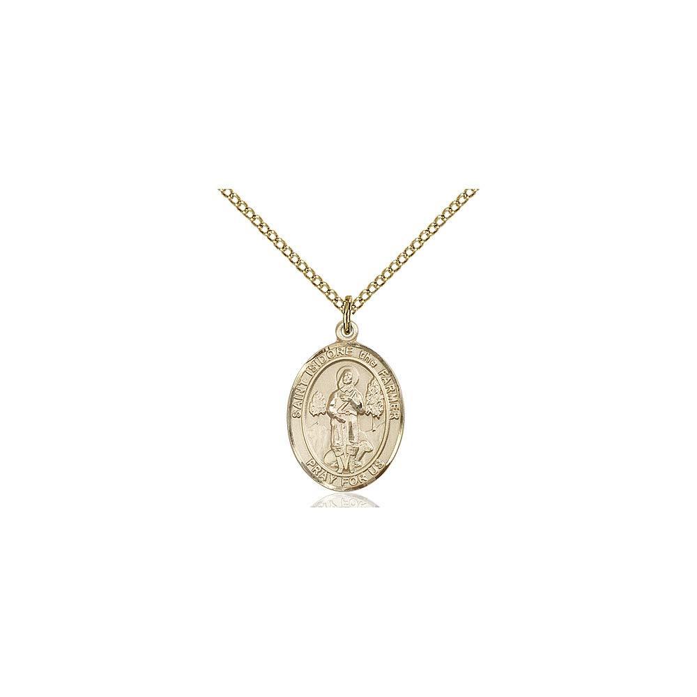 Isidore The Farmer Pendant DiamondJewelryNY 14kt Gold Filled St