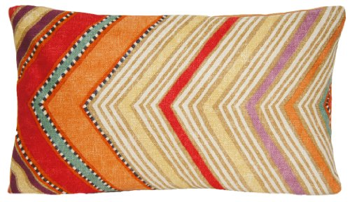 (Orange Decorative Pillow Throw Moroccan Style Cushion Cover Osborne and Little Fabric Fez )