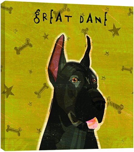 - Tree-Free Greetings 84068 Eco Art Wall Plaque, 11.25 by 11.25 by 0.5-Inch, Black Great Dane