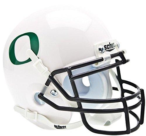 OREGON DUCKS NCAA Schutt XP Authentic MINI Football Helmet (WHITE)