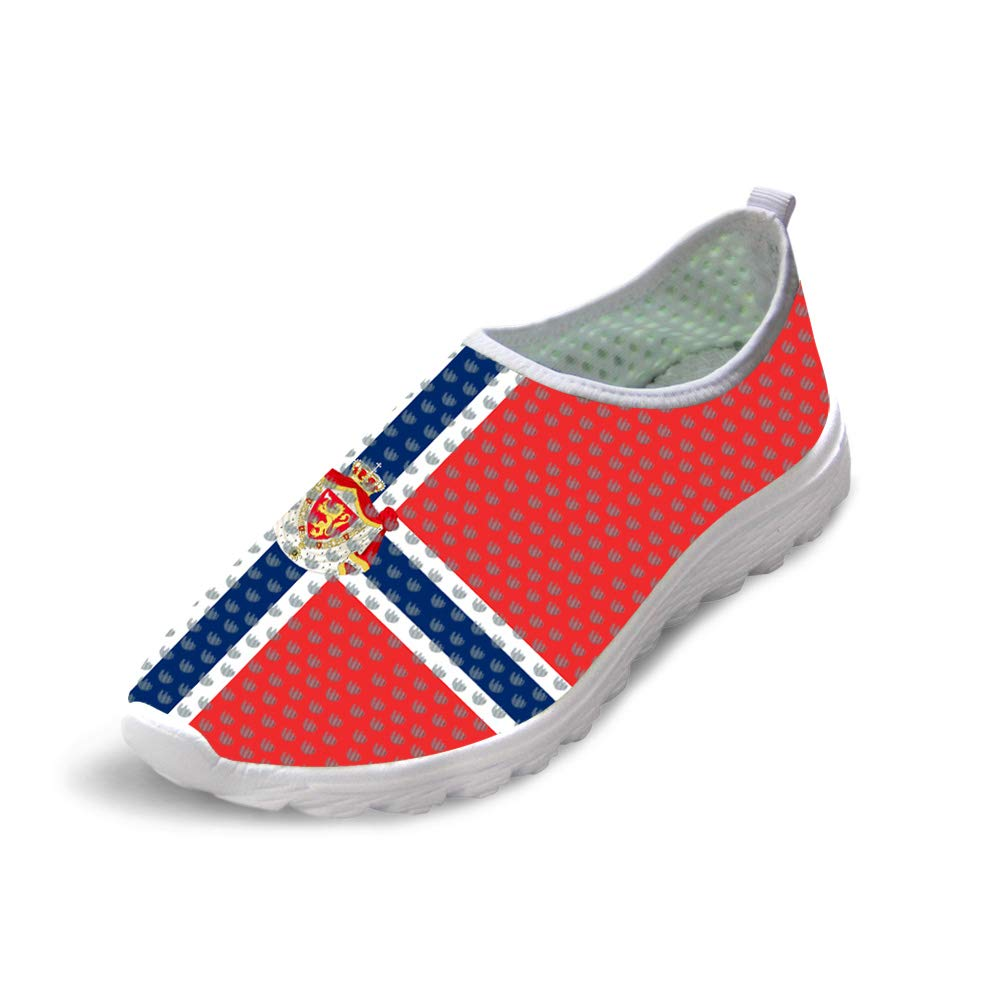 Owaheson Trail Runner Running Shoe Casual Sneakers Norwegian Flag National Emblem