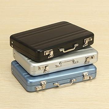 Amazon De Aexu Elegant Koffer Design Visitenkartenetui
