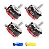 4PCS Emax RS2205S 2300KV Cooling Series Brushless Motor for FPV Racing Drone Quadcopter w/ Free ARRIS Battery Straps
