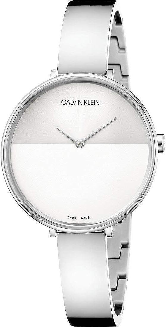 Calvin Klein Reloj Analógico-Digital para Unisex Adultos de Cuarzo con Correa en Acero Inoxidable K7A23146