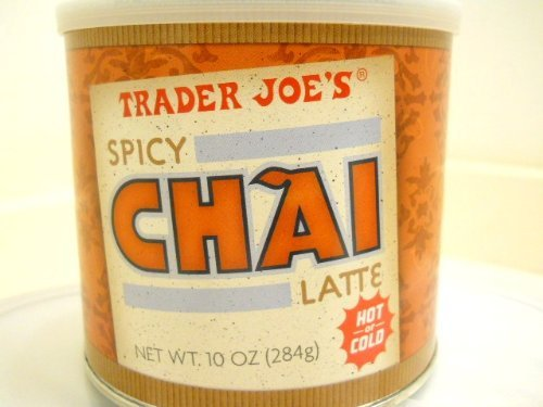 Set of 3 Trader Joe's Spicy Chai Latte, Garden, Lawn, Maintenance