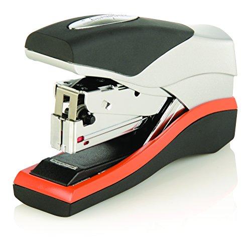 swingline-6447419227-optima-40-compact-stapler-40-sheet-stapling-capacity-black-orange