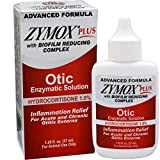 Zymox Plus Otic-HC Advanced Formula Enzymatic Solution 1.25oz Hydrocortisone 1%