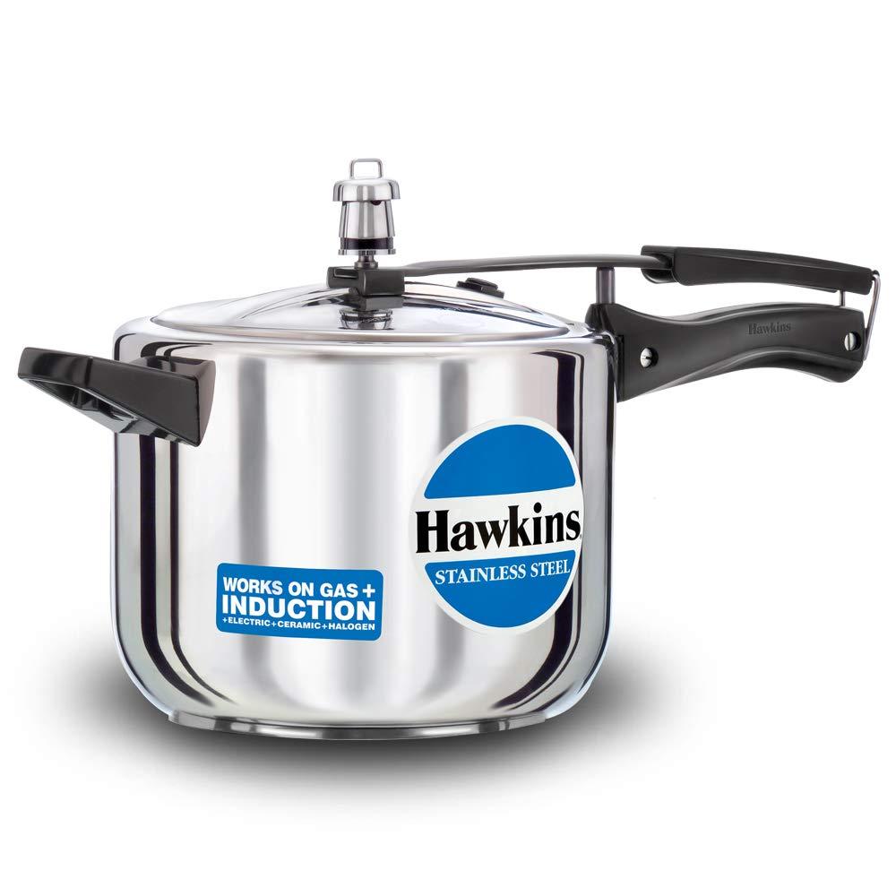 Hawkins HSS50 Stainless Steel 5 L Pressure Cooker