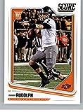 #8: Football NFL 2018 Score #353 Mason Rudolph Rookie