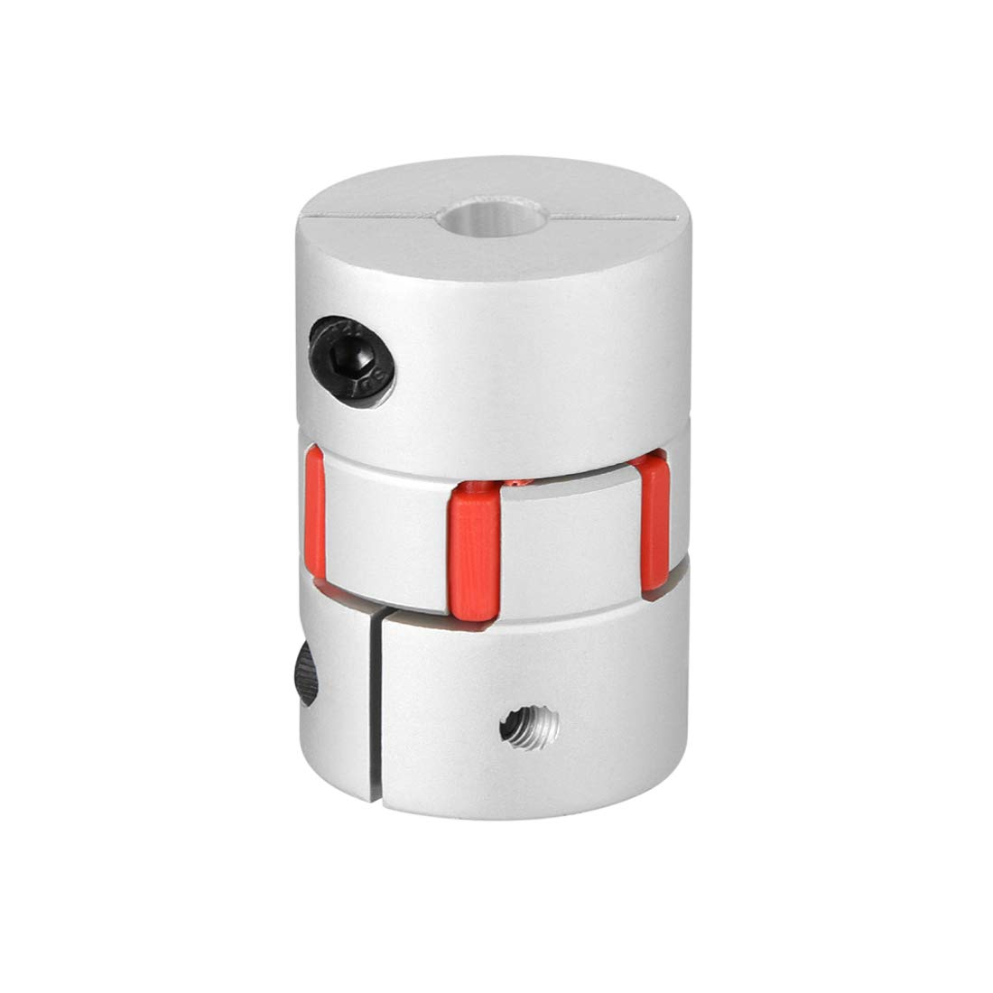 uxcell Shaft Coupling 6mm to 6mm Bore L30xD20 Flexible Coupler Joint for Servo Stepped Motor