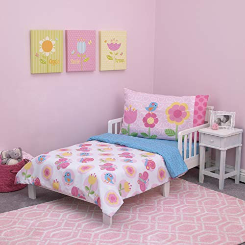 garden party toddler bedding set