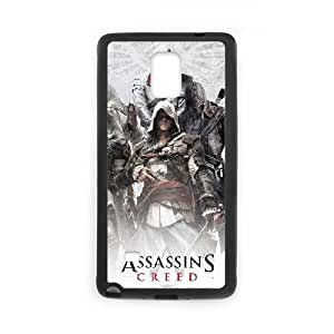 Assassin'S Creed Samsung Galaxy Note 4 Cell Phone Case Black 218y-799914