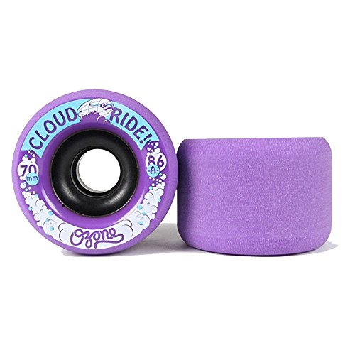 Cloud Ride! Wheels Ozone 70mm 86A Longboard Wheels Purple