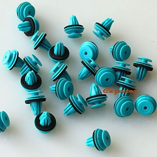 FidgetFidget Interior Door Moulding Panel Clip for 20pcs