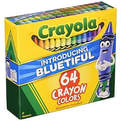 Crayola TRTAZ11A Crayon Set, 3-5/8
