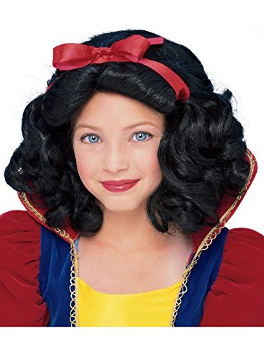 Rubie's Child's Fairest Princess Wig, Black]()