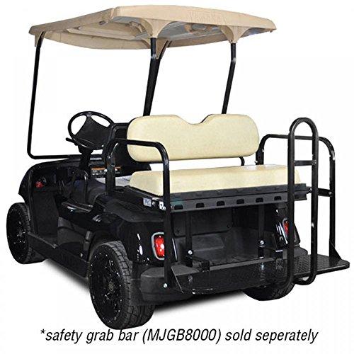 Madjax 01-013 Genesis 150 Rear Flip Seat Kit for Yamaha G14, G16, G19, G22 Golf Carts Ivory Cushions