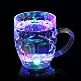 Water Bottle, Hatop Distinctive Flashing Led Wine Glass Light Up...