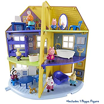 Peppa Pig Peppa's Deluxe Family Home House Playset With Figure Toy Playset 3+