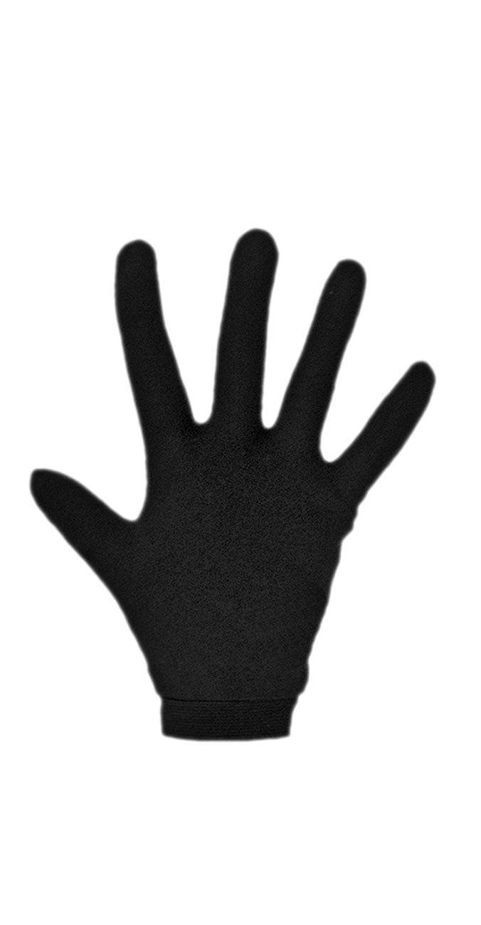 LD600 Base Layer Silk Gloves M Black