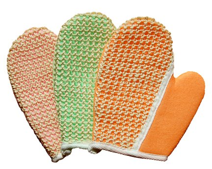 Equine Organix Sisal and Terry Bath & Grooming Mitt/Glove for Horses, Dogs ()
