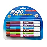 2 sets of 12, Expo Fine Point, Low-Odor, Dry Erase Assorted Markers, Total of 24 Markers