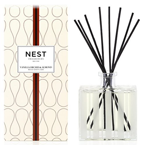 NEST Fragrances Reed Diffuser- Vanilla Orchid & Almond, 5.9 fl oz by NEST Fragrances