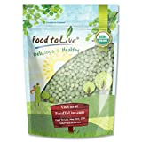 Food to Live Organic Green Peas (Raw, Kosher) — 1 Pound