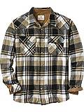 Legendary Whitetails Men's Flannel Shotgun Black Plaid Medium