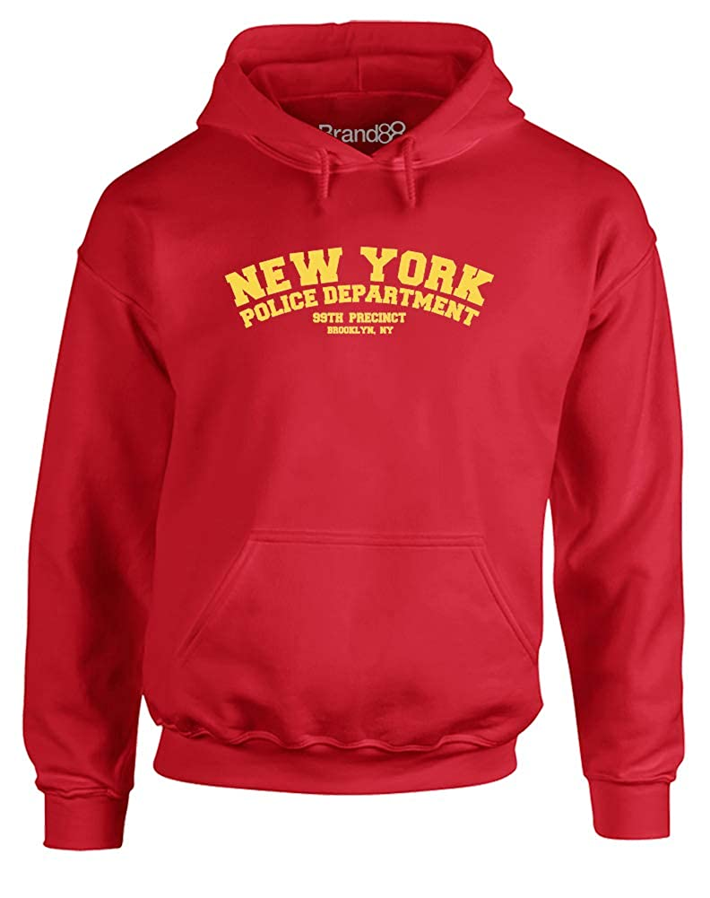 Brand88 - 99th Precinct, Adults Printed Hoodie GD057_CC002