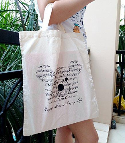 BestSounds ,  Damen Tasche MG-1 White