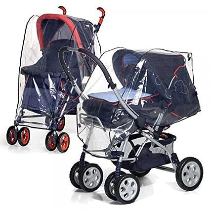 Protector impermeable para carritos de bebe para protegerlos de la lluvia