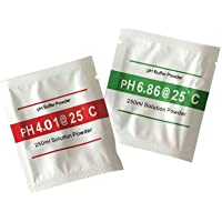 Cdrox Solución Buffer 2pcs pH Meter Powder Set