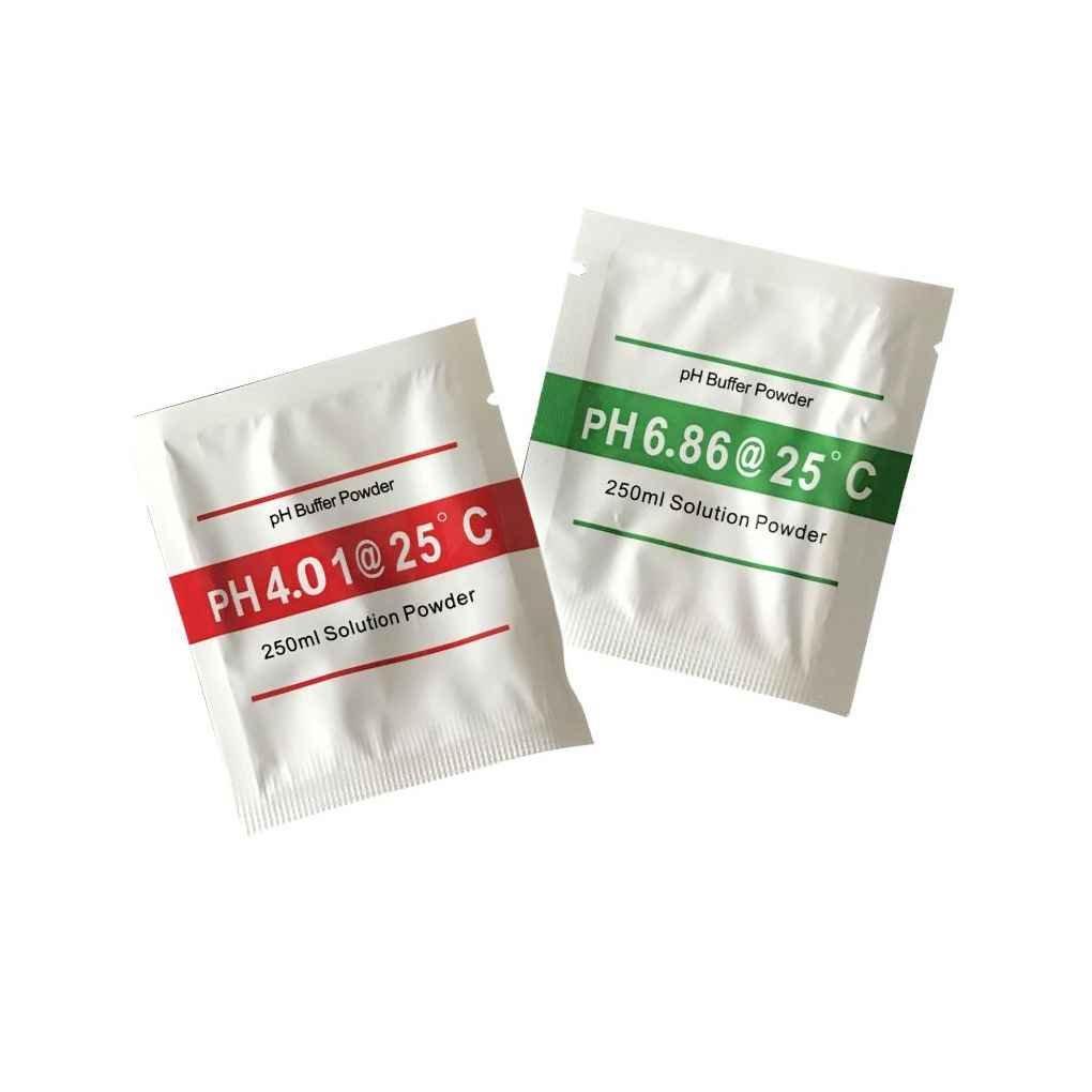 2pcs pH Meter Buffer Solution Powder Set for Quick and Easy pH Calibration 4.01 6.86 Calibration Powder Stevlogs
