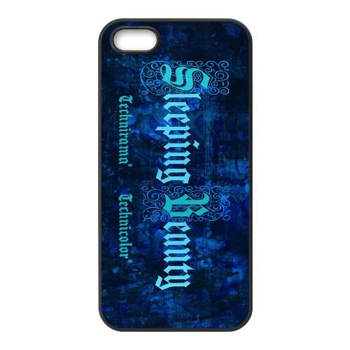 L2T61 Sleeping Beauty I5D1SJ coque iPhone 4 4s cellulaire cas de téléphone couvercle coque noire RW2QJY1YD