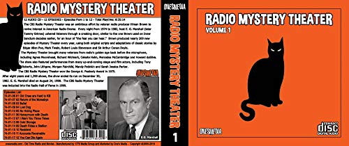 CBS RADIO MYSTERY THEATER Collection 1 - BOX SETS 1 and 2 - 24 Audio CD - 24 Shows - Episodes 1 to 24