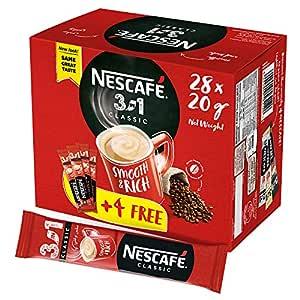 Nescafe 3in1 Instant Coffee Sachet 20g (28 Sticks) - Promo Pack