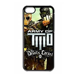army of two the devils cartel 2013wide iPhone 5c Cell Phone Case Black 53Go-107590