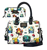 Pokémon Tatoo Flash Satchel Handbag and Wallet Set (Beige)