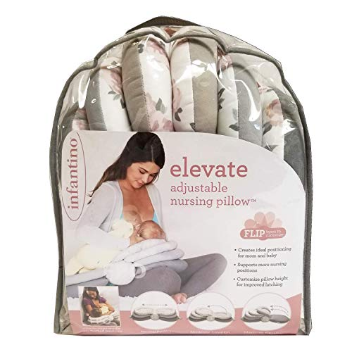 Inflatable Nursing Pillows - Infantino Elevate Adjustable Nursing Pillow (Colors