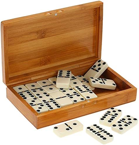 Vaorwne 28Pcs//Set Domino Board Games Domino Toys Travel Funny Table Game Kid Children Educational Toys For Children Gifts