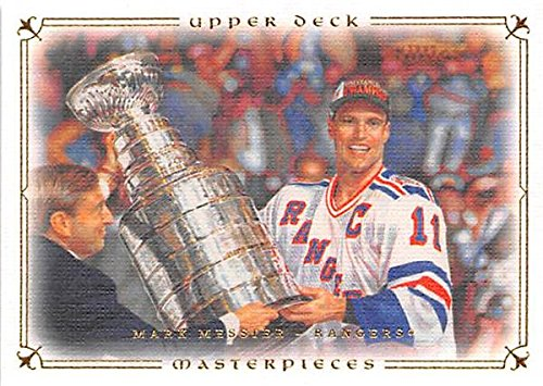 - Mark Messier hockey card (New York Rangers 1994 Stanley Cup) 2008 Upper Deck Masterpieces #10