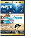 Dolphin Tale/Flipper/Free Willy (DVD) (Triple Feature) by Various