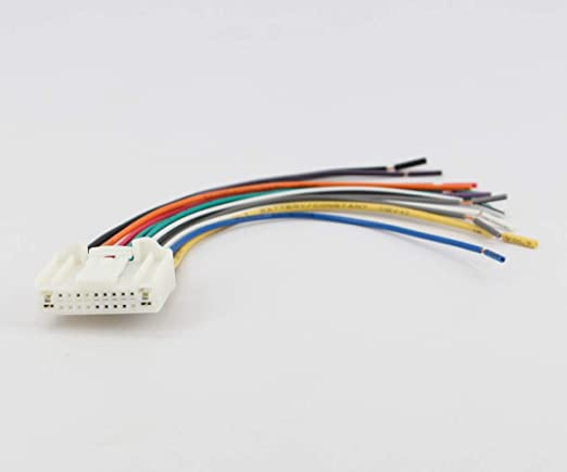 Amazon.com: Xtenzi Car Radio Wire Harness Compatible with ... on dual car stereo wire harness, subaru engine harness, subaru gauges, subaru timing chain, subaru outback engine diagram, subaru parts warehouse, subaru intake, subaru lighting harness, subaru transmission harness, subaru oil filter, subaru radio wiring diagram, subaru radio harness, subaru coil wire harness, subaru hood, subaru tail lights, subaru speed sensor, subaru wiring connector, subaru muffler, subaru subwoofer harness, subaru headlight harness,
