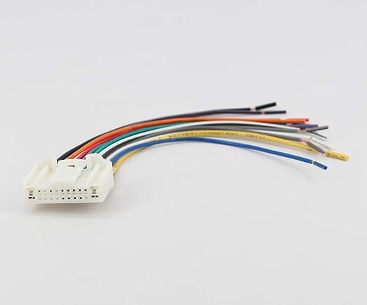 Amazon.com: Xtenzi Car Radio Wire Harness Compatible with ... on