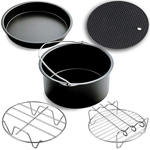 (Air Fryer Accessories,Phillips Air Fryer Accessories and Gowise Air Fryer Accessories Fit all 3.7QT-5.3QT-5.8QT,Set of 5-7 inch)