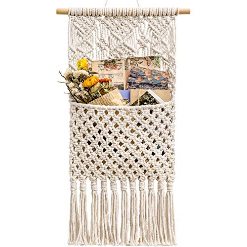 Mkono Macrame Wall Holder