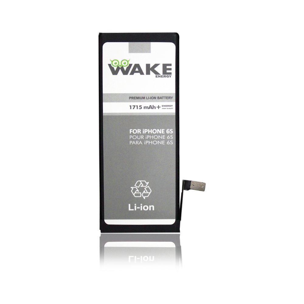 online retailer ea58e b5317 Amazon.com: WAKE BATTERY for Iphone 6S Li-ion 1715 mAh (no ...